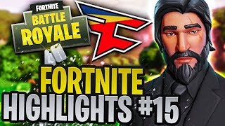 I KILLED A PRO PLAYER!!! (BEST FORTNITE HIGHLIGHTS #15)