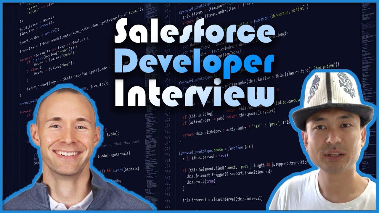 Salesforce Developer Mock Interview for $130,000 Role