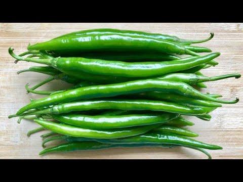 这才是辣椒最过瘾的吃法,不用炒,不油炸,连吃2碗米饭,超下饭