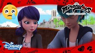 Mucize: Uğur Böceği ile Kara Kedi | Marinette'in Hayalleri Yıkılıyor 😢 | Disney Channel TR
