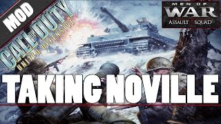 Men of War: Assault Squad 2 - Call of Duty: United Offensive (MOD) - Taking Noville