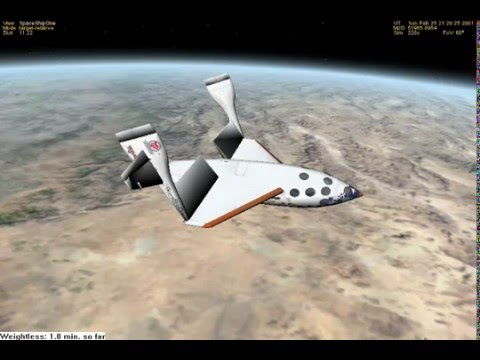 Tribute to Orbiter and SpaceshipOne - YouTube