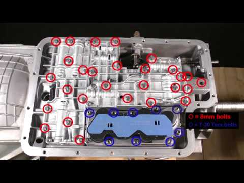 ford e4od / 4r100 class lesson 2 of 16  transmission bench