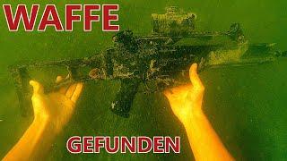 Waffe in der Donau gefunden + [Batterie, Fahrrad, Wels, Wobbler einen Grinder und viel Müll]