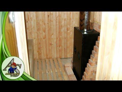 Внутренняя отделка комнаты отдыха,парной и санузла