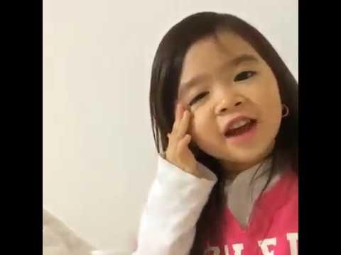 Cute Baby Girl Saying Good Night Youtube
