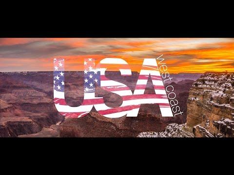 USA West Coast Road Trip - Sony A6000 [HD]
