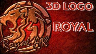 كيفية إنشاء 3D الملكي الأسد الشعار || PICSART الشعار || قبل Ankit ك الحيل