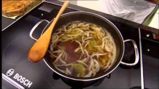 Karlos Arguiñano en tu cocina: Sopa japonesa