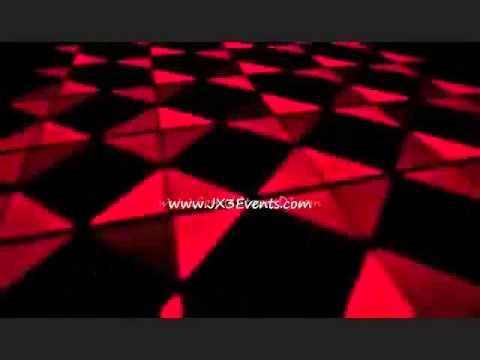JX3 Events & Entertainment LED Dance Floor