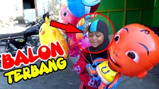 Isi Sendiri Balon Helium Ke Tukang Balon, Balon Gas UPIN, MASH…