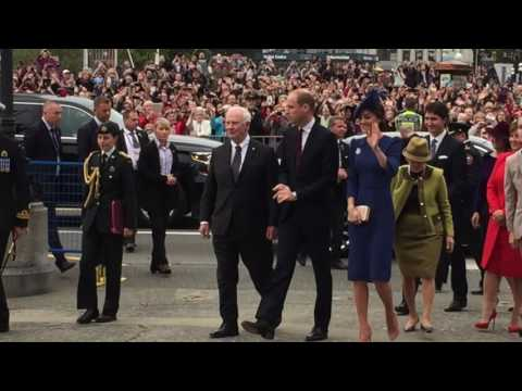 Vancouver Sun video of the Duke and Duchess of Cambridge