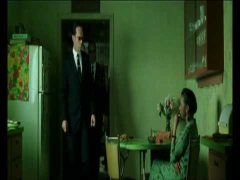 Matrix Revolutions - Smith and The Oracle Meeting Scene