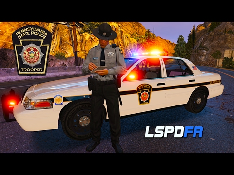 GTA 5 LSPDFR - Pennsylvania State Trooper - In Memory of Trooper Landon Weaver