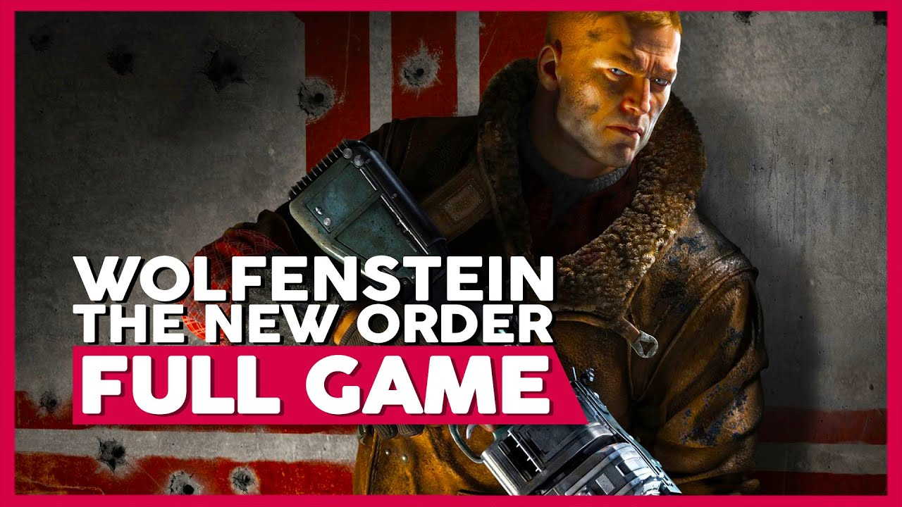 Wolfenstein: The New Order | Full Playthrough | No Commentary [PC,PS4,XB1] (60FPS)