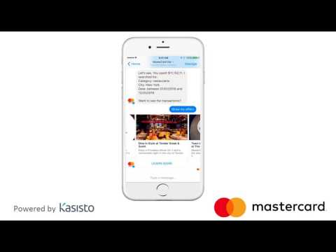Mastercard Makes Commerce more Conversational with Kasisto's