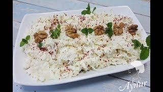 Doyurucu ve ferahlatici Kereviz salatasi Tarifi I Sellerie salat