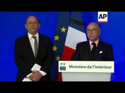 Briefing by French Interior Minister  Cazeneuve