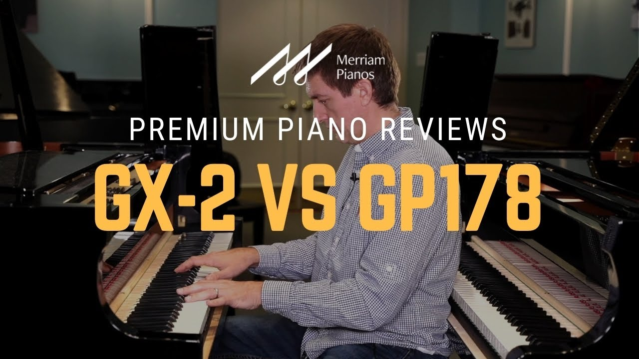 🎹Kawai GX-2 vs Boston GP178 Grand Piano Review & Comparison - Both Built by Kawai in Japan🎹
