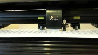 Режущий плоттер Vicsign HSQ1080(, 2015-10-28T10:18:06.000Z)