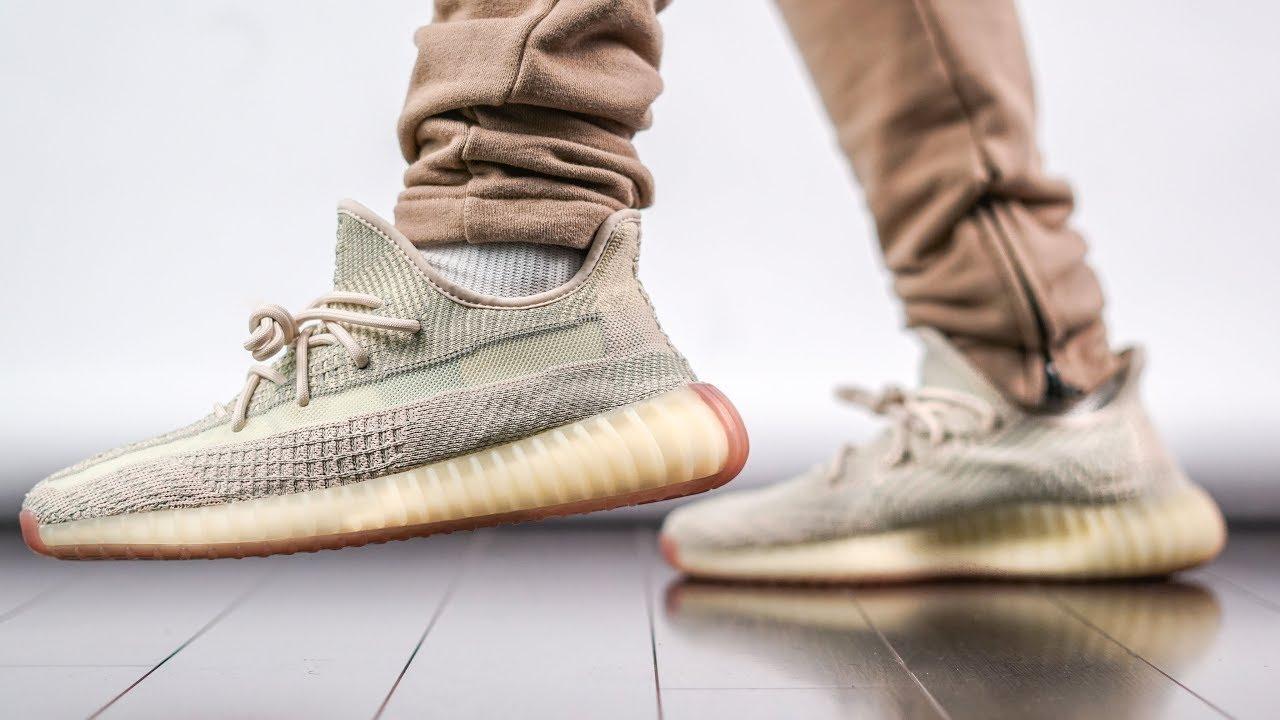 Yeezy 350 V2 Citrin On Feet Review