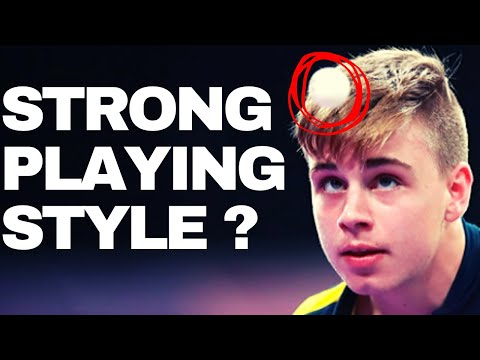 MOREGARDH TRULS - STRONG PLAYING STYLE ? BEST OF WORLD JUNIOR 2017 TABLE TENNIS