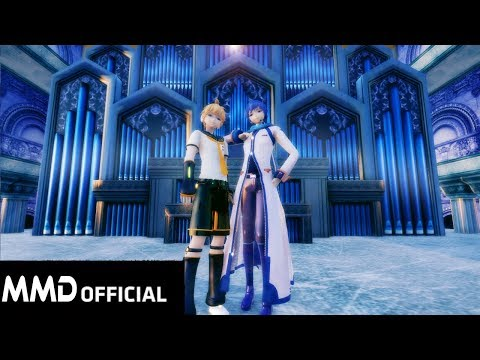 【animated-cover-dance】-blackpink--kill-this-love「mmd-kpop」kaito-・鏡音レン