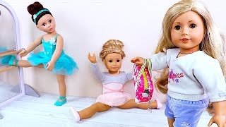 Play AG Ballerina Baby Doll Clothes Ballet Class Toys!