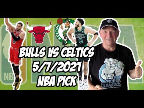 NBA Betting Pick: Boston Celtics at Chicago Bulls 5/7/21 Free NBA Pick and Prediction
