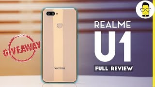 Realme U1 Review and giveaway | comparison with Realme 2 Pro, Redmi Note 6 Pro