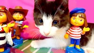 Кошка Яся, Алис и Даша Следопыт путешествуют по странам мира✈Наш новый котик Макс❤(Кошка Яся, Алис и Даша Следопыт путешествуют по странам мира✈Наш новый котик Макс❤ Алис путешествует по..., 2017-02-08T16:11:11.000Z)