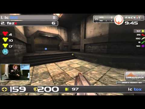 DHW2013 - Quake Live (GROUP A - R6) - tox vs fazz