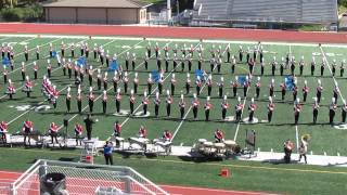 Cedar Falls Marching Band 2014 State Contest