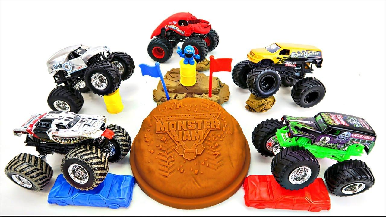 Hot Wheels Monster Jam Monster Trucks 🏁 Grave Digger