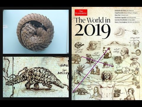 The Economist Cover 2019: It's Time to Discuss the Pangolin. The Hidden Language of Pan.