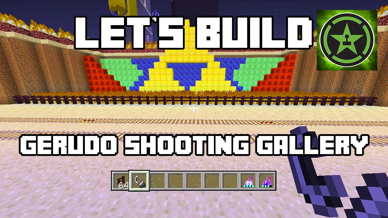 Let's Build in Minecraft - Gerudo Shooting Gallery