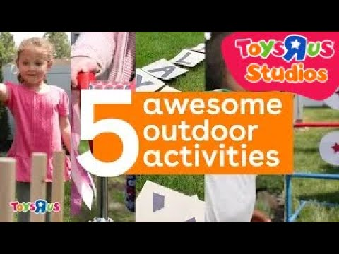5 AWESOME OUTDOOR ACTIVITIES FOR KIDS - 동영상
