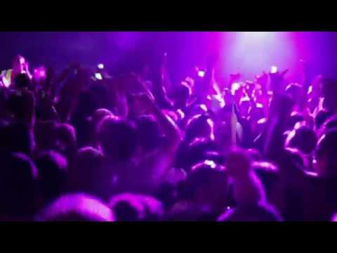 Jumping Concert Crowd Background Motion Video Loops HD