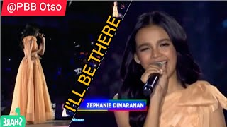 I'LL BE THERE by Zephanie Dimaranan @ PBB8 BigNight | 1st idolPh Grand Winner