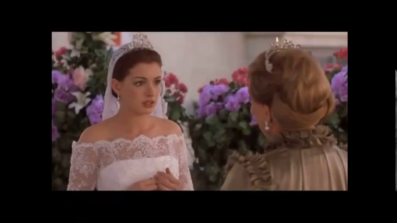 Princess Diaries 2: Clarissa Consoles Mia Wedding Scene