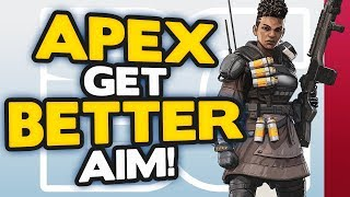 Apex Legends how to get BETTER AIM on CONSOLE (Xbox One & PS4) | Apex Legends Tips