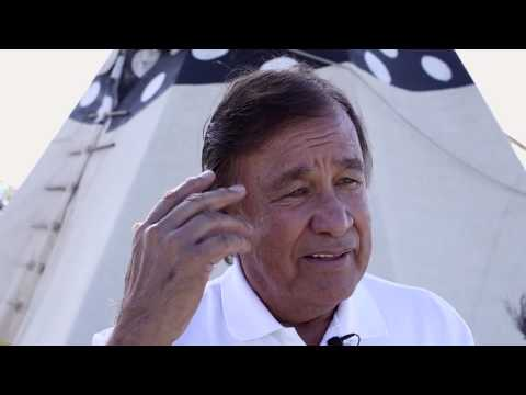 Billy Mills Supports Standing Rock Sioux Tribe