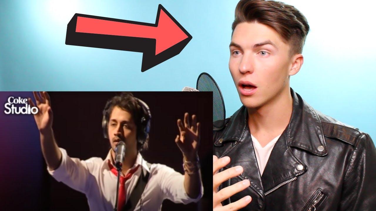 VOCAL COACH Justin Reacts to ATIF ASLAM singing Jal Pari (Coke Studio)