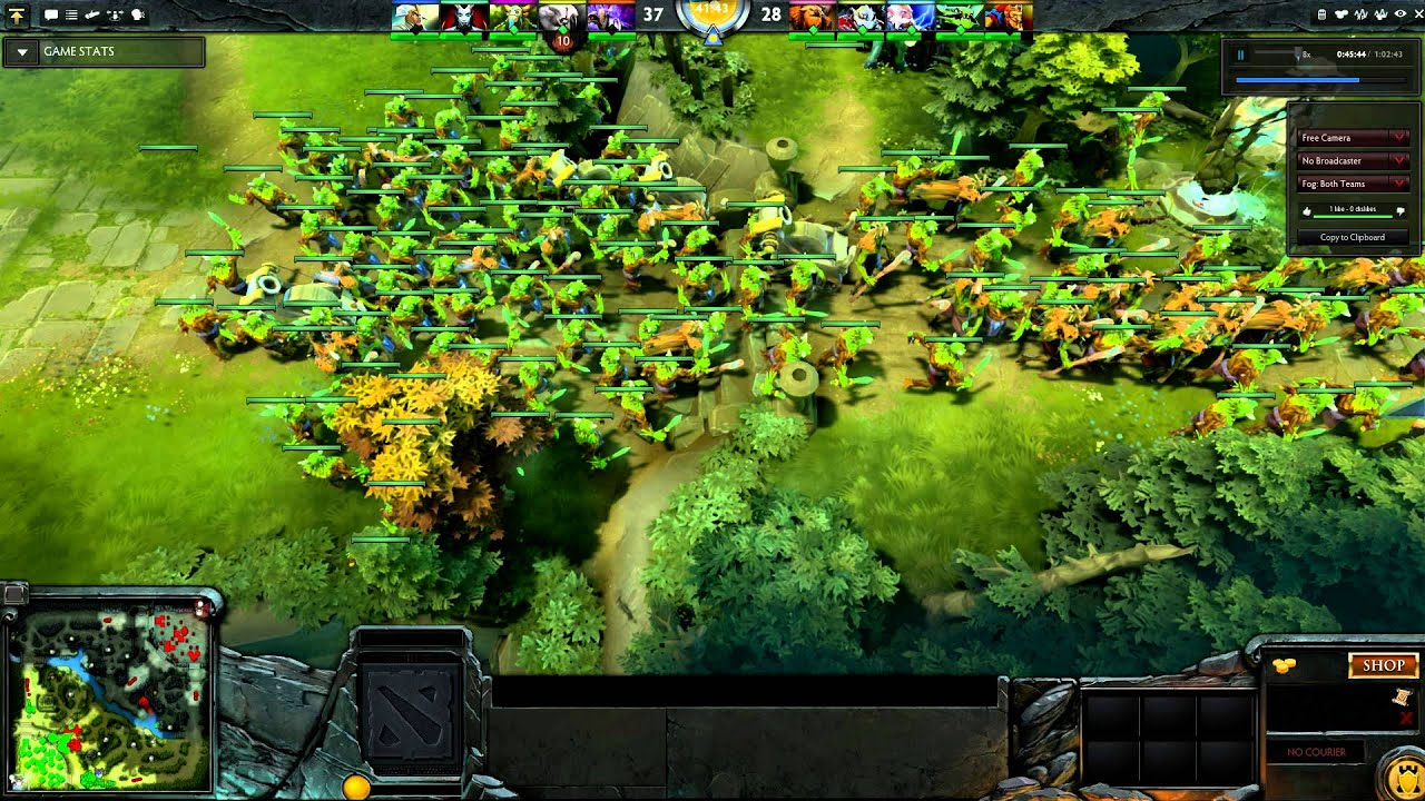 Creep Block In Dota 2 YouTube