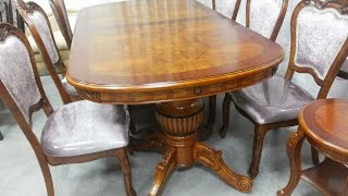 Столы обеденные в классическом стиле. Стол раскладной Classic 04/1.  Classic Style Tables
