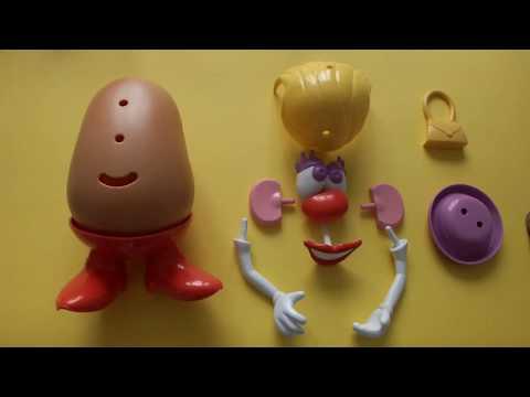 Bayan Patates Kafa Ile Vücudumuzu Öğreniyoruz - İngilizce Vücudumuz