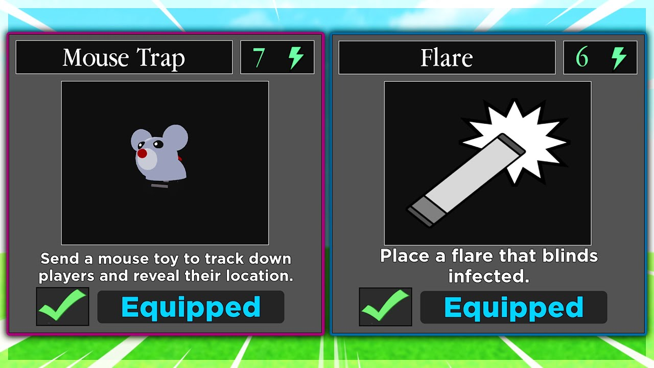 Download PIGGY NEW MOUSE TRAP & FLARE ABILITY.. (New Update)