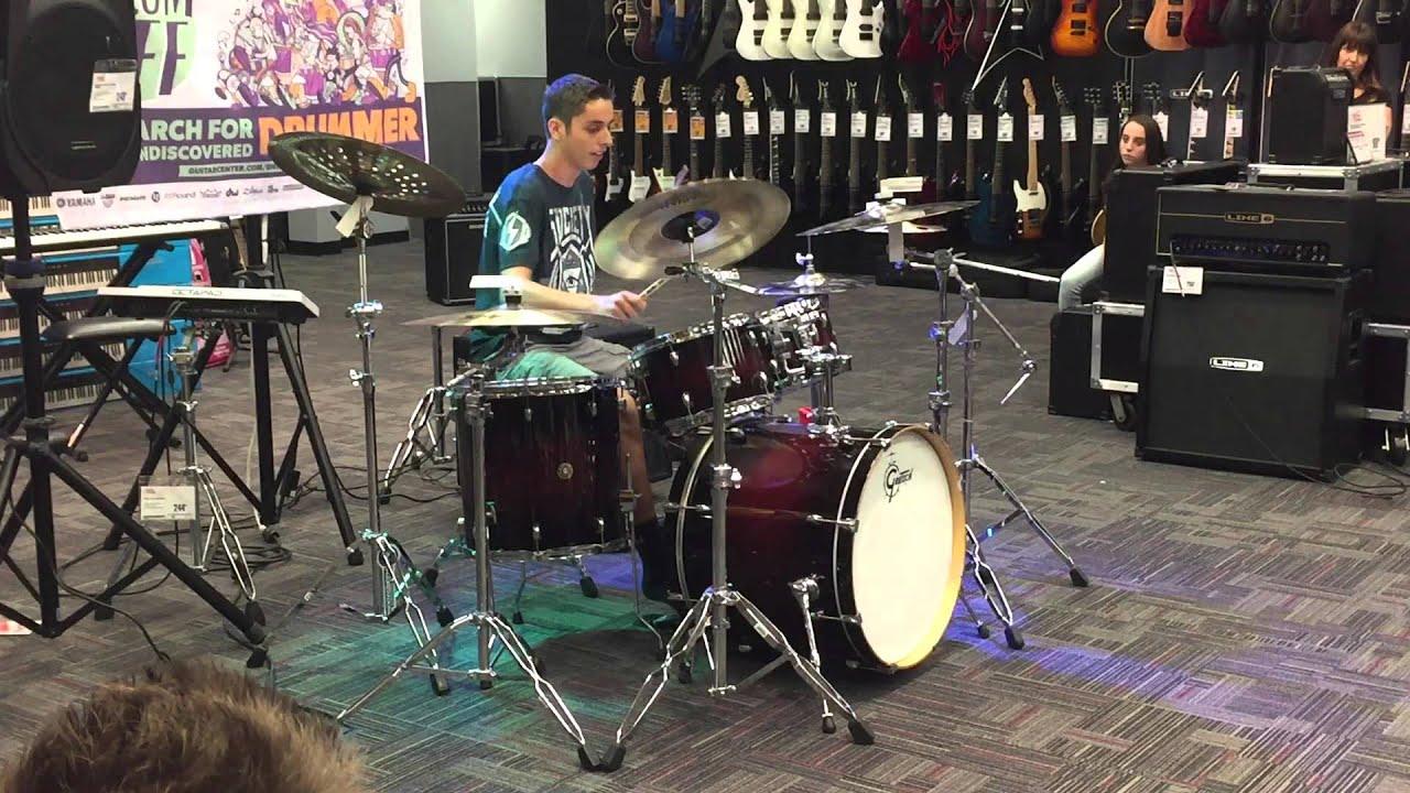 2015 guitar center drum off roseville ca lucas amado youtube. Black Bedroom Furniture Sets. Home Design Ideas