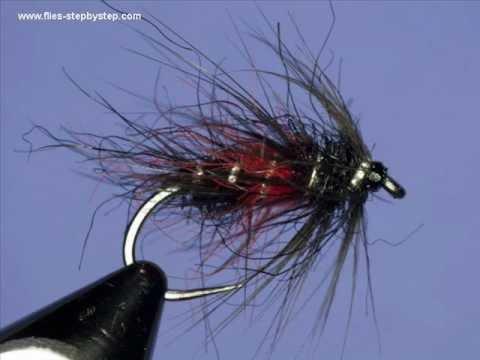Fly tying - Bibio, wet...