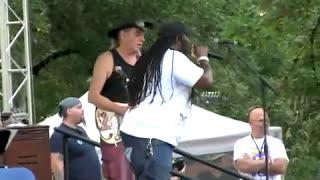 JC RICO & HAPPY BACKBONE Willamette Valley Blues & Brews Festival 2010